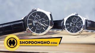 Review Đồng hồ | CASIO MTP-V300L-1AUDF và LTP-V300L-1AUDF | Shopdongho.com