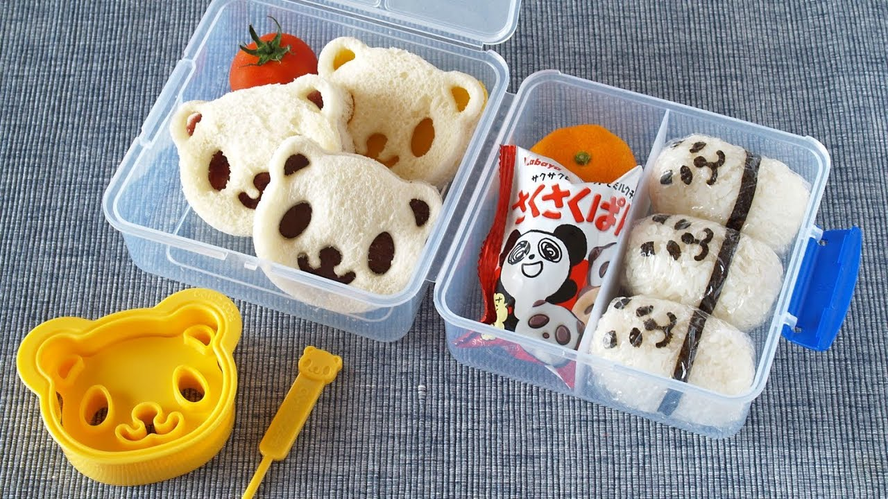 western style panda lunch box ochikeron create eat happy giveaway closed. Black Bedroom Furniture Sets. Home Design Ideas