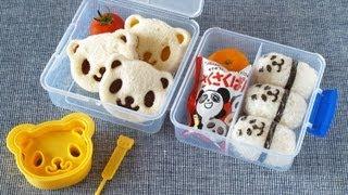 Western-Style Panda Lunch Box アメリカンなランチボックス - OCHIKERON - CREATE EAT HAPPY (GIVEAWAY CLOSED)