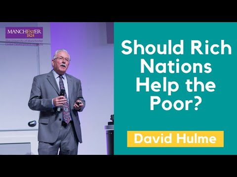 GDI Lecture series: Should Rich Nations Help the Poor? with Professor David Hulme
