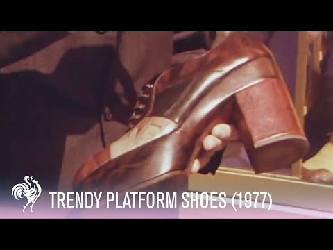 Platform Shoes 1970s Fashion Trend Youtube
