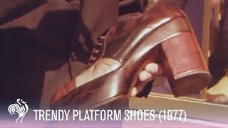 Trendy Platform Shoes! Mini-Documentary Preview (1977)  | Vintage Fashions thumbnail