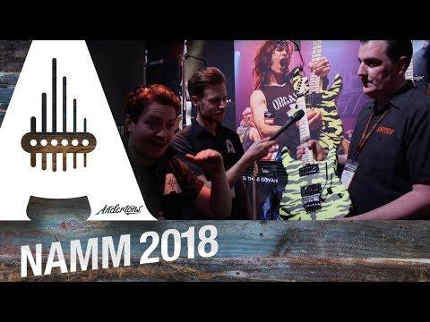 Jackson, Charvel and EVH - NAMM 2018