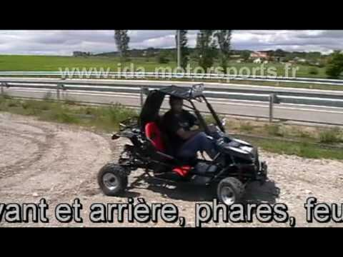 buggy enfant 110cc 2 places by ida motors sports youtube. Black Bedroom Furniture Sets. Home Design Ideas