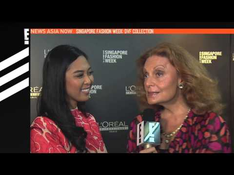 DVF Collection at SG Fashion Week | E! News Asia | E!