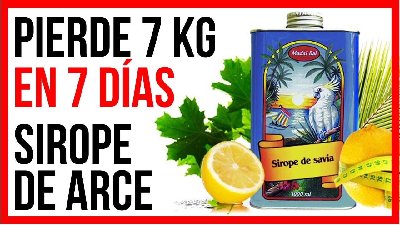 dieta del sirope de agave