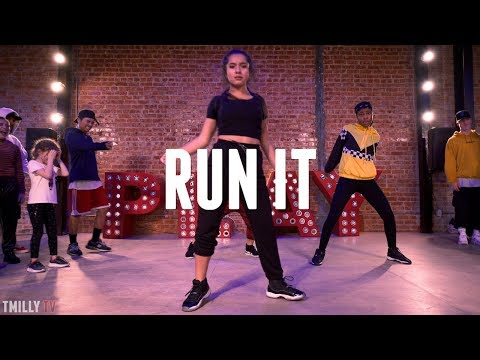 Chris Brown - Run It | Choreography By Phil Wright & SayQuon Keys