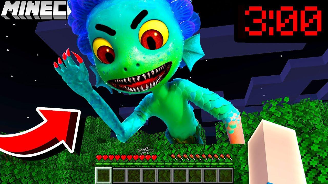 LUCA.EXE SEEMONSTER MUTANT GREIFT DIE STADT AN in Minecraft