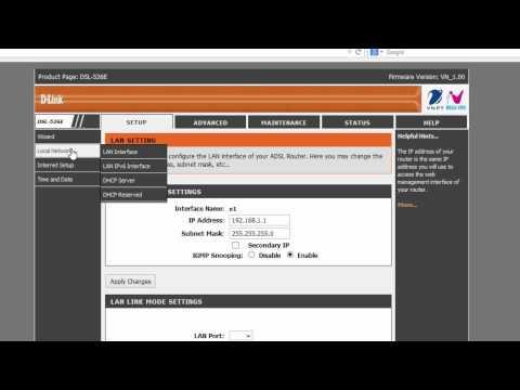 Dlink DSL526E coban Internet va MyTV