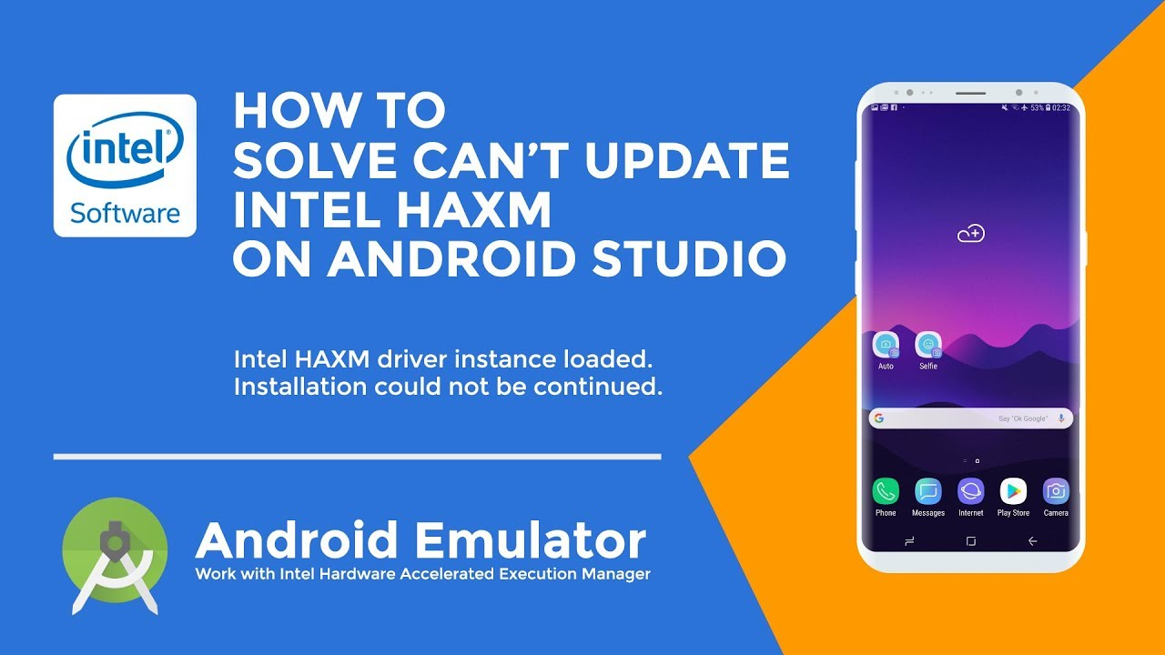 How to Solve Can't Install Update Intel HAXM 7.3.2 on Android Studio – HAXM Driver Instance Loaded