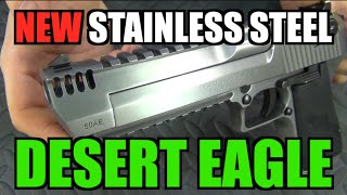NEW Stainless Steel Desert Eagle