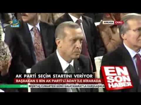 AK Parti Yenikapı İstanbul Mitingi - Helikopter Çekimi Klip - Recep Tayyip Erdoğan