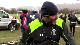 Owen Williams Cycle Ride | WRU TV