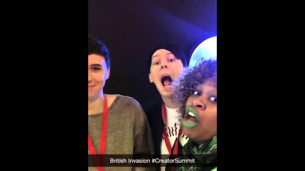 Dan Howell Snapchat