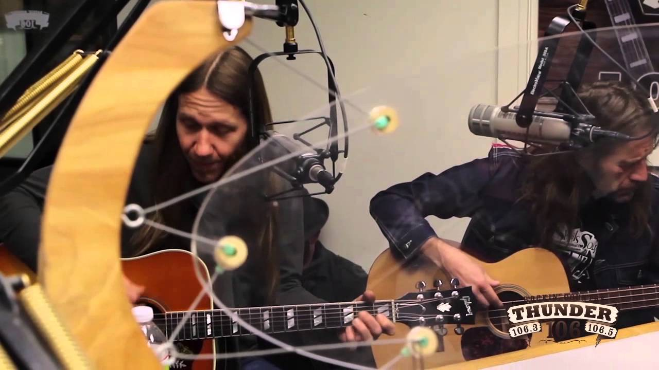 blackberry smoke perform one horse town live at thunder 106 youtube. Black Bedroom Furniture Sets. Home Design Ideas