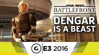 Star Wars Battlefront Dengar Gameplay - E3 2016