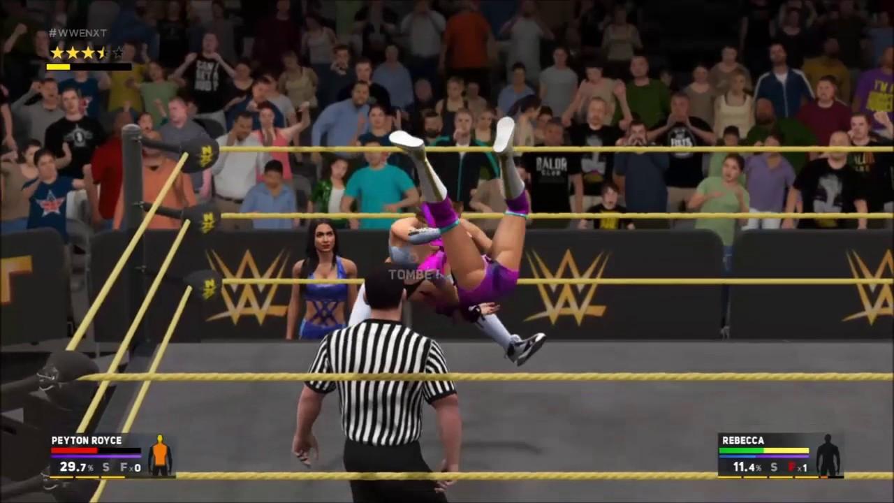 WWE2k17 NXT Women's Championship: Peyton Royce vs Rebecca ...