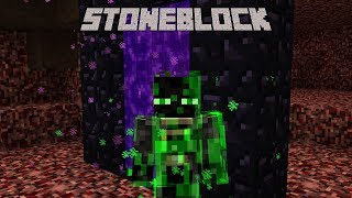 StoneBlock - EVOLVED NETHER [E05] (Modded Minecraft)