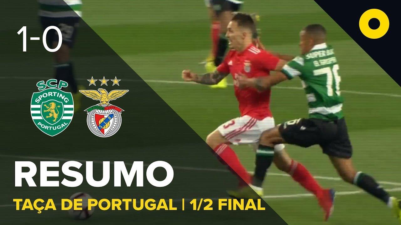 Sporting 1 0 Benfica Resumo Sport Tv Youtube