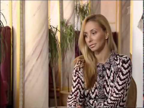 Саша Жулина и Татьяна Навка в передаче
