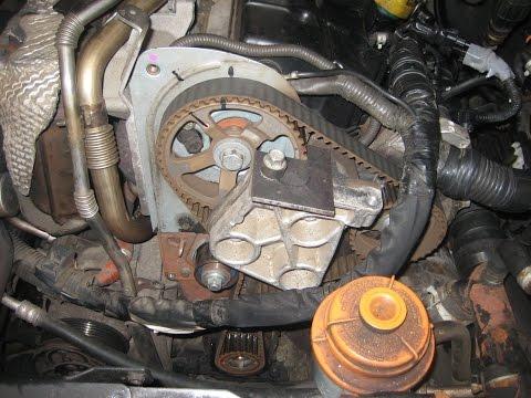 Udskiftning af tandrem på Suzuki Grand Vitara 1,9 DDIS, 2007