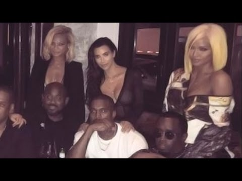 Kim Kardashian, Kanye West, Beyoncé and Jay Z In One Pic! | Hollywood High