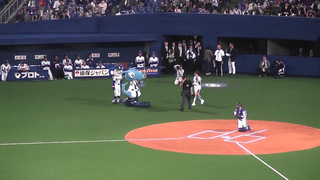 Download サッポロビール2011イメージガール葉月ミカさん始球式110429中日広島戦