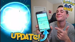 NEW POKÉMON GO UPDATE! + MASS EVOLUTIONS, Q&A, AND IPHONE 8 HYPE!