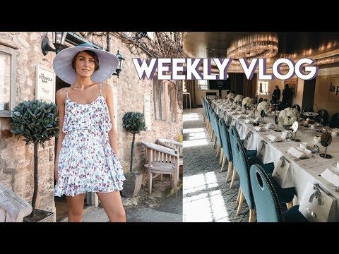 VLOG: FANCY EVENTS, MY WORKOUT ROUTINE & A HEATWAVE | Blaise Dyer