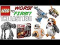 LEGO Worst To First All LEGO Star Wars The Last Jedi Sets mp3