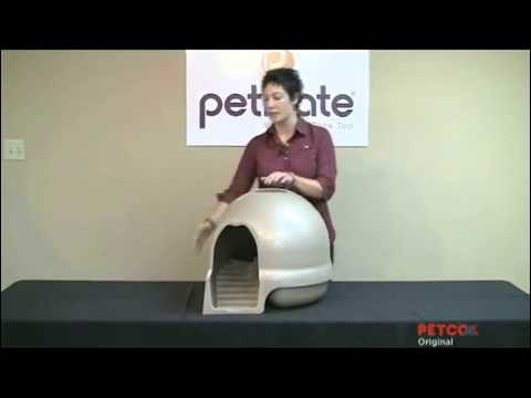 Booda Clean Step Litter Box Demonstration