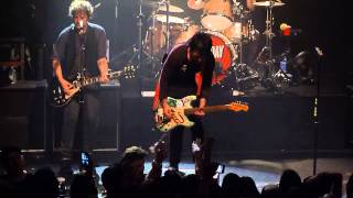 Green Day - 2000 Light Years Away & Only of You & covers  @ Irving Plaza in NYC 9/15/12