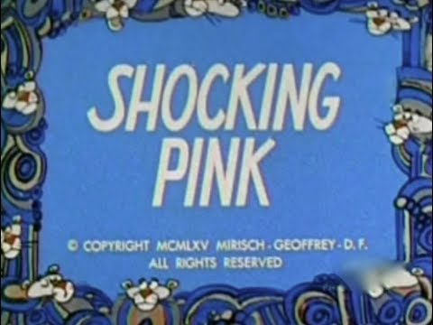 Pink Panther: SHOCKING PINK (TV version, laugh track)