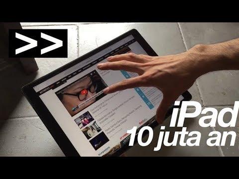 Nyobain iPad se harga 10 jt an (iPad pro)