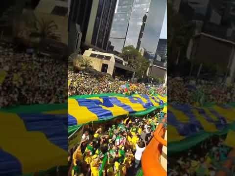 Brazil: One million strong march in support of Brazilian President Jair Bolsonaro.