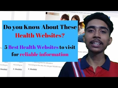5 Best Websites for your Health | Health and Fitness Tips from Reliable Health Websites