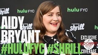 Aidy Bryant interviewed from Hulu's #Shrill at #FYCEmmys Event
