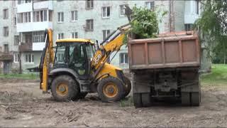 В Верхней Салде на улице Пролетарской начались работы по благоустройству дворовой территории