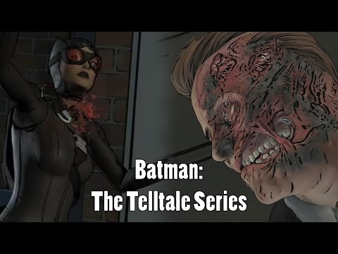 Telltale Batman Episode 2 FINALE - Death of Catwoman?! Birth of Two-Face?! The Toughest Choice Yet!