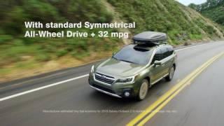 The Newly Redesigned 2018 Subaru Outback thumbnail