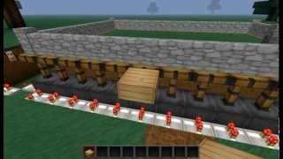 Как сделать Механический Забор в minecraft 1.4.5