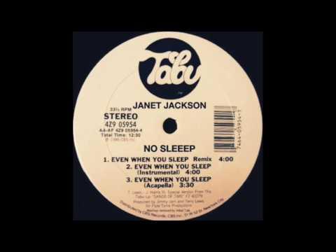 Janet Jackson - No Sleeep (Even When You Sleep '86 Remix) @InitialTalk