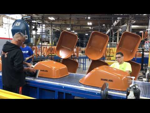 See how wheelbarrows are made at Ames plant