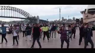 ICC World T20 Bangladesh 2014, Flash MOB - SYDNEY, MACQUARIE UNIVERSITY