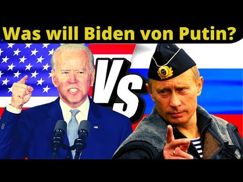 Was will Biden von Putin? Wozu das morgige Treffen?