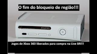 O Fim do Bloqueio de Região no Xbox 360!!!
