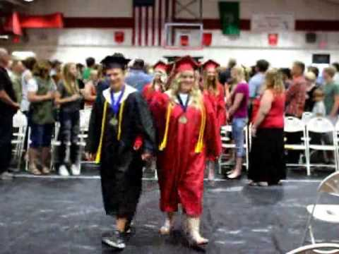 Mary Walker High School holds graduation ceremony
