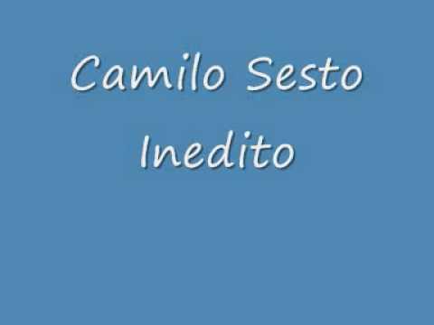Camilo Sesto grabacion Inedita