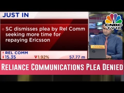 Supreme Court Dismisses Reliance Communication Plea For More Time To Repay 550 Cr Dues To Ericsson