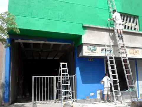 PINTURA FRENTE LOCAL COMERCIAL 2012  malancaagro  YouTube